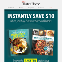 Your Instant Pot Discount is Here!