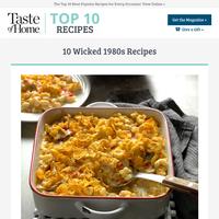10 Wicked 1980s Recipes