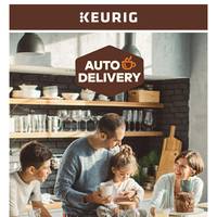 Make it a Happy (and Much Easier) New Year with Keurig.com Auto-Delivery