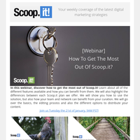 Happy New Year 🎉 [Webinar] How to get the most out of Scoop.it?