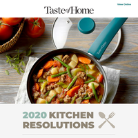 Kitchen Resolutions 2020: Lovely Lunches.