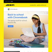 Back to school with Chromebook
