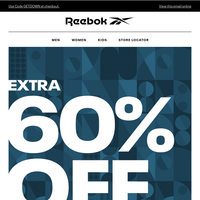 Extra 60% off Markdowns: New Styles Added