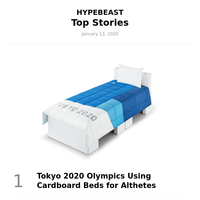 Top Stories This Week: Tokyo 2020 Olympics Using Cardboard Beds for Althetes and More