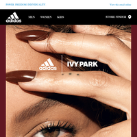 The adidas x IVY PARK collection is coming.