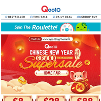 [CNY Home Living Special] Keep Clean and Carry ONG ONG this Chinese New Year! Colgate is having storewide great discount for Spring Cleaning!