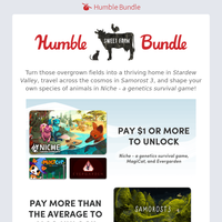 Time to live off the land (video game style) with the Humble Sweet Farm Bundle!