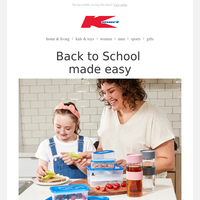 Your one-stop back to school shop