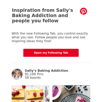 Sally's Baking Addiction just posted a new idea!