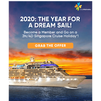 Gift your family a 3N/4D cruise holiday in Singapore