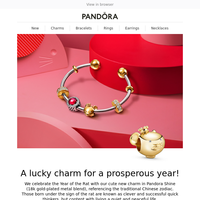 Celebrate Chinese New Year with Exclusive Pandora Styles!