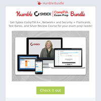 Get ready for the CompTIA exams with this test prep bundle!