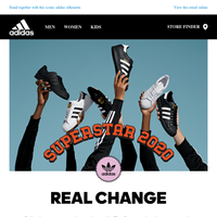 adidas Originals. Real Superstars own the streets.