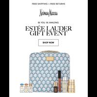 Your Estee Lauder gift is here...