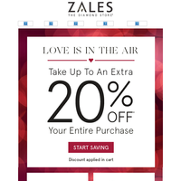 Shop 'Til You Drop! Take up To An Extra 20% Off Your Purchase