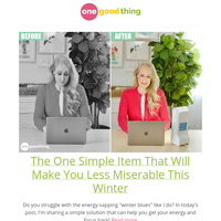 The One Simple Item That Will Make You Less Miserable This Winter