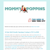 16 Epic Kid-Friendly Openings Coming to NYC in 2020