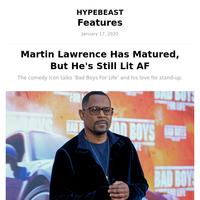 Martin Lawrence Has Matured, But He's Still Lit AF