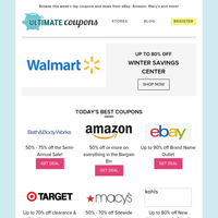 Warm Your Winter Up with Hot Deals from Walmart, Amazon, Target & More!