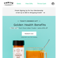 FREE Whole30 gift + 20% off
