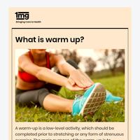 Benefits of regular warm up in winters.