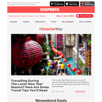 Travelling During The Lunar New Year Season? Here Are Some Travel Tips You'll Need.
