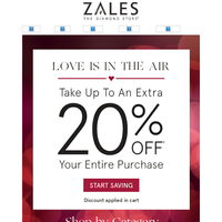 Weekend Plans? Stay In and Save Up to 20% Off Your Entire Purchase