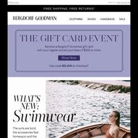 The Swimwear Edit + Earn a BG Gift Card