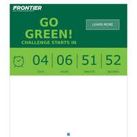Save 30% when you fly on Americas Greenest Airline!