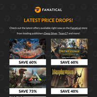 [NEW GAMES ON SALE] Save big on Deep Silver, Team17 and more!