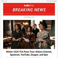 Winter 2020 TCA Press Tour: History Channel, Spectrum, YouTube, Oxygen, and Epix