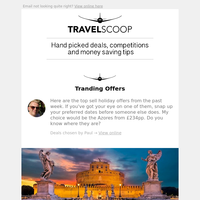 Italy frm £99pp / Cancun frm £769pp ✈