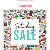 Saturday Sale // up to 75% off