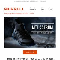 NEW MTL Astrum: Run Right Through Winter