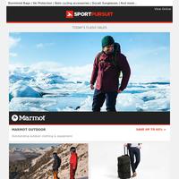 Up to 73% Off: Marmot Outdoor   Untrakt Ski Wear   Eastpak Luggage   Rivelo   Winter Running