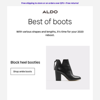 Rounding up the best boot silhouettes of the season