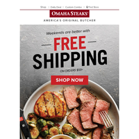 Your Free Shipping Offer Ends Tonight