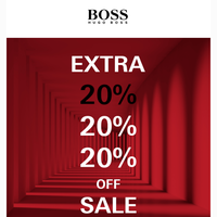 Extra 20% Off Event, Ends Tomorrow!