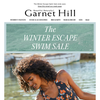 SAVE 25% on swimsuits and cover-ups