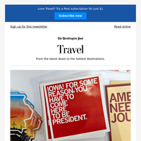 This week in Travel: An election-year Iowa travelogue, a concise guide to visiting Japan, when to take the train, and more