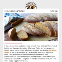 Sunday Recipe Inspiration: Bake for good