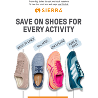 Epic shoe savings for all your adventures