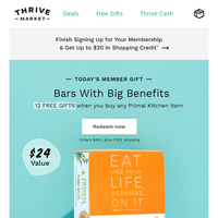 12 FREE gifts ($24 value) from Primal Kitchen