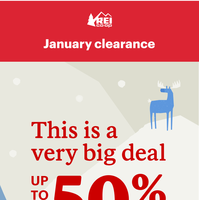 Clearance Deals, Moving Fast. Save Up to 50%