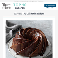 10 Must-Try Cake Mix Recipes
