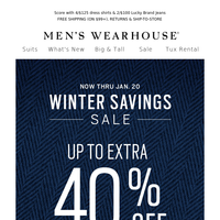 Fan favorite: up to EXTRA 40% off clearance