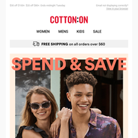 Spend & Save? Basically free money 😏