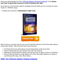 [Free Download] 8 Minute Options Trading System