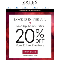 20% Off Your Entire Purchase? Yes, Please!
