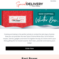 Special Delivery! Is your Winter box coming?